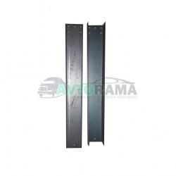 Комплект задних удлинителей рамы Газель длинна 1.20 м