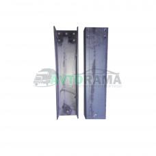 Комплект задних удлинителей рамы Газель длинна 500 мм